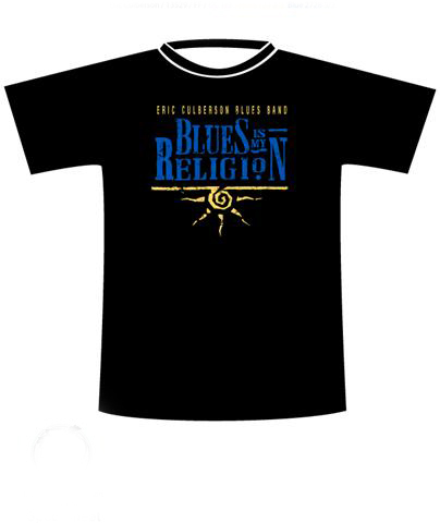 Blues Is My Religion T-Shirt